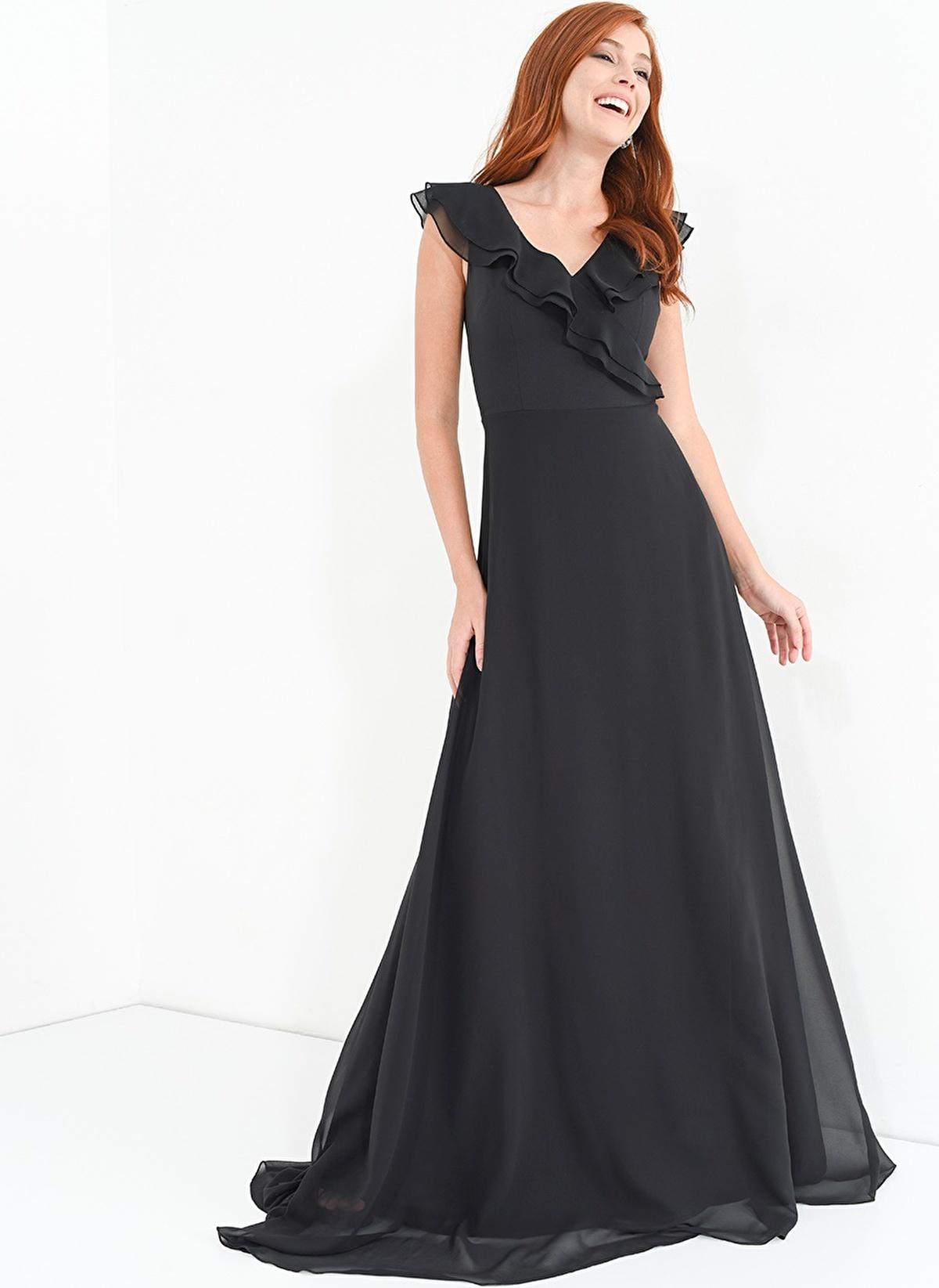 06421de3e9ea7 People By Fabrika Kadın Elbise Siyah | Morhipo | 18939389